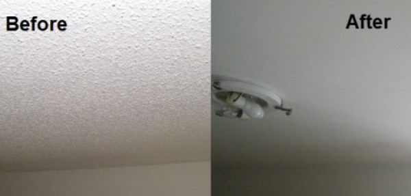 Texture Ceiling Repairs Matching